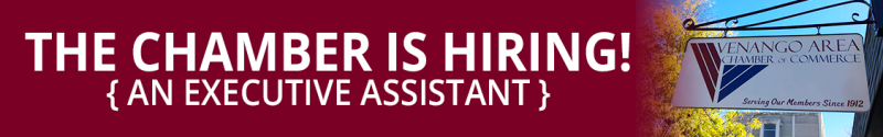Chamber Hiring Executive Assistant 2018
