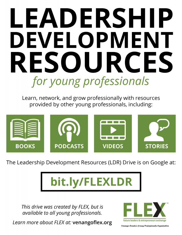 FLEX Leadership Development Resources Flyer