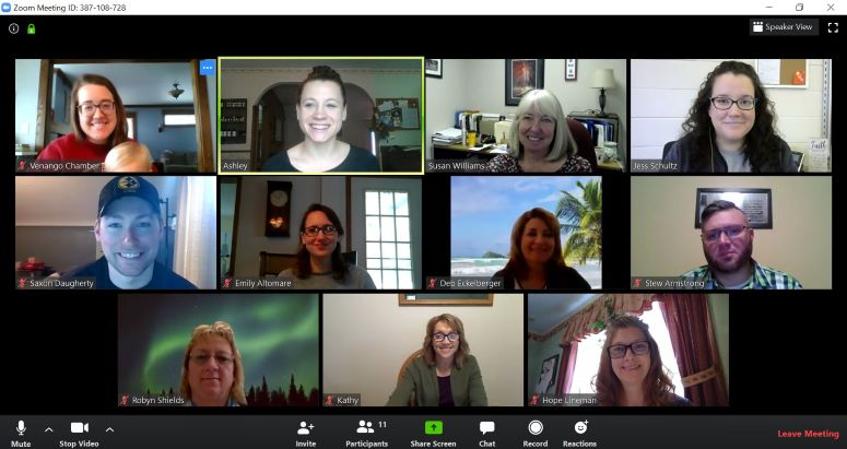 Tech Tip Virtual Meeting Etiquette Venango Area Chamber Of Commerce